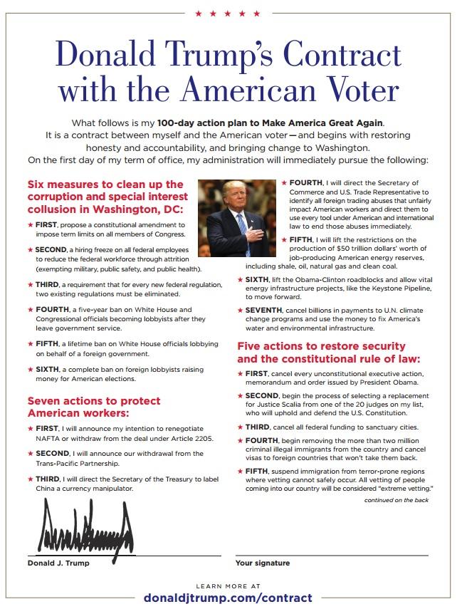 Trump's Contract